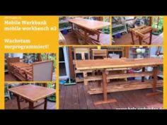 DIY Projekt#006  Mobile Werkbank   mobile workbench   Part 2