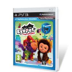 EyePet y sus Amigos PS3  Precio 11.95€    La nueva entrega de la mascota virtual más querida de PlayStation 3 ha vuelto. Por primera vez en la franquicia se podrá educar y jugar con dos EyePet a la vez, de modo que los más pequeños de la casa podrán disfrutar en la misma televisión del doble de travesuras y diversión. Gracias a la tecnología de la Realidad Aumentada, las mascotas podrán interactuar entre sí y con sus dueños, sorprendiendo a toda la familia con sus juegos y trastadas.