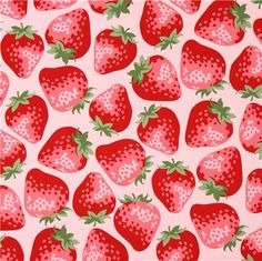 Amazing fabric. I love this print! It's so berry obnoxious!