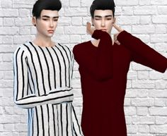 Over sized Sweater Recolor by Soulevans997  (Need the Mesh)