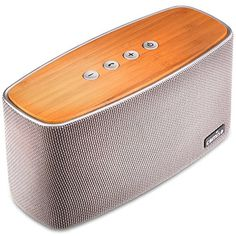 COMISO Bluetooth Speakers with Super Bass Bamboo Wood Home Speaker with S. in Consumer Electronics, Portable Audio & Headphones, iPod, Audio Player Accessories, Audio Docks & Mini Speakers Best Portable Bluetooth Speaker, Waterproof Bluetooth Speaker, Home Speakers, Stereo Speakers, Bluetooth Speakers, Bose, Karaoke, Mobile Speaker, Digital Signal Processing