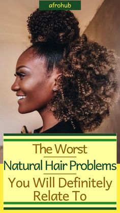 11 Natural Hair problems you will definitely relate to Natural hair doesn't come without its problems. How many of these 11 Natural Hair problems have you experienced? And which annoys you the most? #naturalhairproblems #naturalhairproblemsfunny #naturalhairproblemsblack