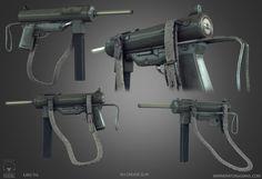 M3 Grease Gun low poly by Bawarner on DeviantArt