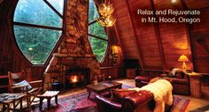 Evolve February Newsletter! Relax & Rejuvenate in Mt. Hood, Oregon :)