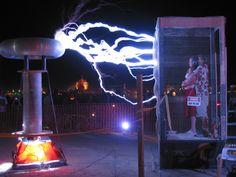 Dr Megavolt Burning Man 2003