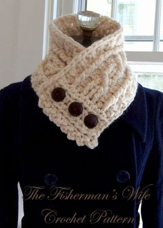 The Fisherman's Wife Crochet PDF Pattern by whiletheyplay on Etsy, $5.00