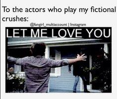 Yes please... Matt Dillon aka Dally Winston. Or Rob Lowe aka Sodapop Curtis... Or C. Thomas Howell aka Ponyboy Curtis... LET ME LOVE YOU!!! <3<3<3