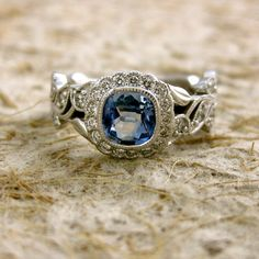 Light Blue Sapphire Diamond