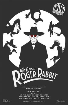 Who Framed Roger Rabbit Mobday Night Movies