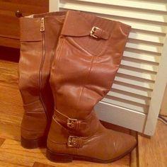 SALE!!! Michael Kors rider boots. Like new!! Michael Kors Shoes Heeled Boots