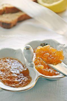 Marmellata di limoni, mandarini e vaniglia