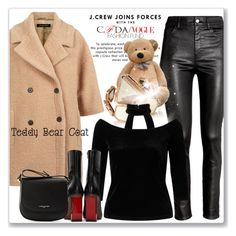 """Snuggle Up: Teddy Bear Coats"" by andrejae ❤ liked on Polyvore featuring Jaeger, H&M, J.Crew, Monique Péan, Miss Selfridge, Vetements, Lancaster, polyvoreeditorial, polyvorecontest and teddybearcoats"