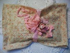 A shabby French lavender sachet available here in Marander Studios.  Now shipping to Canada, as well as the United States.