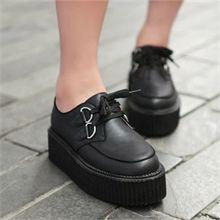 Giày bánh mì, giày bata đế cao
