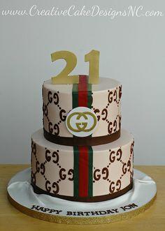 Gucci Cake by Christina's Dessertery, via Flickr