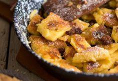 Bajor császármorzsa | NOSALTY Pancake Dessert, Hungarian Recipes, Hungarian Food, Sweet Recipes, Macaroni And Cheese, Dessert Recipes, Food And Drink, Yummy Food, Sweets