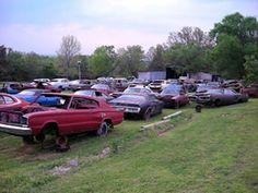 123 Best Junkyards Images On Pinterest Abandoned Cars Barn Finds