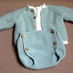 🍬🍬🍬 Crochet Baby Clothes, Baby Knitting Patterns, Knitwear, Knit Crochet, Rompers, Gabriel, Sweaters, Fashion, Knitted Baby Clothes