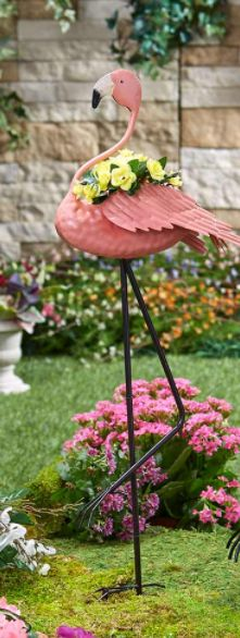 Flamingo Yard Decorations Metal Planter Pot Outdoor Garden Lawn Ornament Statue Flamingo Yard Decorations Metal Planter Pot Outdoor Garden Lawn Ornament StatueStake this https://trickmyyard.com/product/flamingo-yard-decorations-metal-planter-pot-outdoor-garden-lawn-ornament-statue/