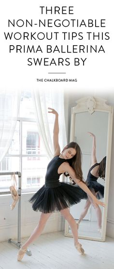 We're heading into the sun-drenched studio of Mary Helen Bowers + learning how to train like a prima ballerina…
