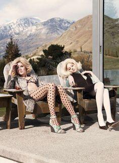 Beautiful & Bored #fashion #editorial for VOGUE Australia by Photographer Nicole Bentley #moda #fotografia