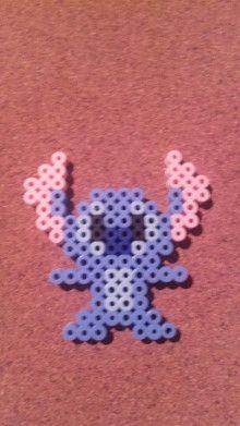 Stitch perler beads