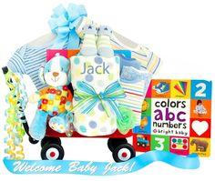 Personalized Boy Baby Wagon
