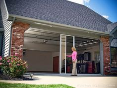 retractable garage screen doorsScreen anchored into the track and bottom rail Shield all your