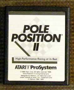 Vintage Atari game, POLE POSITION ll