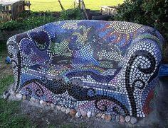 Design Ideas for Mosaic Furniture Art | DIY Motive