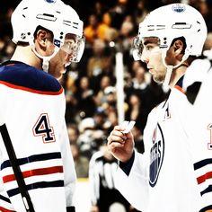 Taylor Hall and Jordan Eberle, Edmonton Oilers