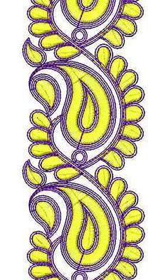 Fashion Cording Embroidery Design