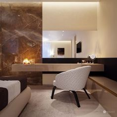 Interior design of this residence reflects the fusion of creamy tones and elements of glamour and exclusivity of the Arab world. Studio Interior, Luxurious Bedrooms, Interiores Design, Glamour, Designer, House, Dreams, Home, Luxury