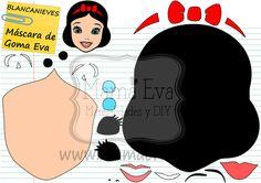 Plantillas personajes princesas Disney Felt Patterns, Applique Patterns, Stuffed Toys Patterns, Felt Diy, Felt Crafts, Scrapbook Da Disney, Deco Disney, Character Template, Girl Birthday Decorations