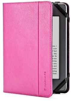 Marware Atlas Kindle Case Cover, Pink (fits Kindle Paperwhite, Kindle, and Kindle Touch) by Marware, http://www.amazon.com/dp/B005HSG3L0/ref=cm_sw_r_pi_dp_Aviwqb0J71RZ3
