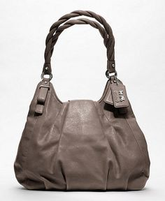 Coach bag. Love this color and style