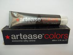 Artease Colors - Permanent Cream Hair Color - Awesome Silky Shine - 2.0 Fl. Oz. Tubes - Shade Selection: 6/00 - Dark Blonde Plus ** See this great product.