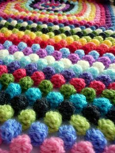 Granny Bobble Blanket