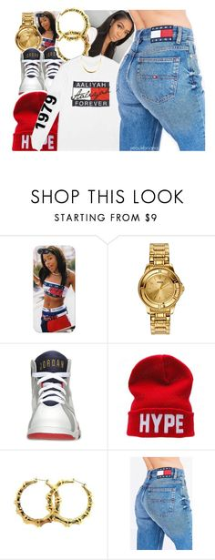 """10/6/2016"" by yeauxbriana ❤ liked on Polyvore featuring Versus, Retrò, CO and Tommy Hilfiger"