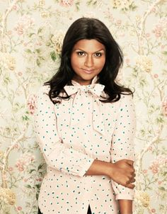 Mindy Kaling - I'm reading her book right now and it's awesome. (photo by Emily Shur)
