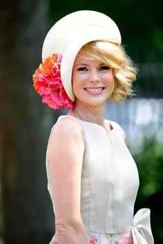 Amanda Holden Photos - Amanda Holden attends day one of Royal Ascot at Ascot Racecourse on June 2012 in Ascot, England. Fancy Hats, Cool Hats, Fascinator Hats, Fascinators, Pillbox Hat, Royal Ascot Hats, Hat Day, Amanda Holden, Crazy Hats