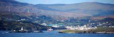 Killybegs, Ireland. Coastal view