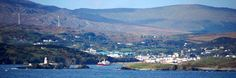 Killybegs, Ireland. Coastal view