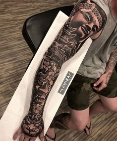 Tattoo Trends – Bodysuit tattoos design ideas for all 7 Asian Tattoo Sleeve, Samurai Tattoo Sleeve, Lace Sleeve Tattoos, Tiger Tattoo Sleeve, Vintage Tattoo Sleeve, Mandala Tattoo Sleeve, Nature Tattoo Sleeve, Japanese Sleeve Tattoos, Sleeve Tattoos For Women