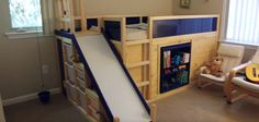 Dad Creates 'Most Awesome Bed Ever' Using Ikea Parts