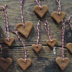 handmade cinnamon hearts