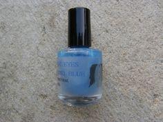 Angel Eyes - Castiel Blue, Supernatural inspired nail polish