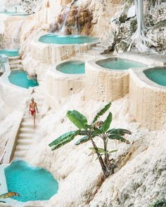 Relaxing at Grutas Tolantongo hot pools // Are you planning a trip to Mexico? Ch… Relaxing at Grutas Tolantongo hot pools // Are you planning a trip to Mexico? Check out these incredible Mexico vacation destinations you didn't know existed! Mexico Vacation Destinations, Vacation Places, Dream Vacations, Travel Destinations, Unique Vacations, Cheap Mexico Vacations, Best Holiday Destinations, Dream Vacation Spots, Vacation Mood