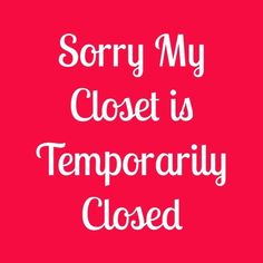 ✈️Will be back soon!✈️ My closet is temporary closed as of 1/18/16 and will reopen 2/4/16. Going on vacation at the end of this week and won't have any time getting orders shipped out. All my items will be posted not for sale with my closet being closed but will post everything for sale once my closet reopens Other