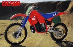 1987 Honda CR250R by teyblyy, via Flickr